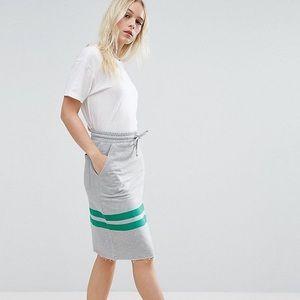 ASOS NWT Petite Drawstring Skirt